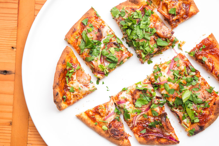 Image for Dinner Smarter: Air Fryer Barbeque Chicken Sausage Pizza