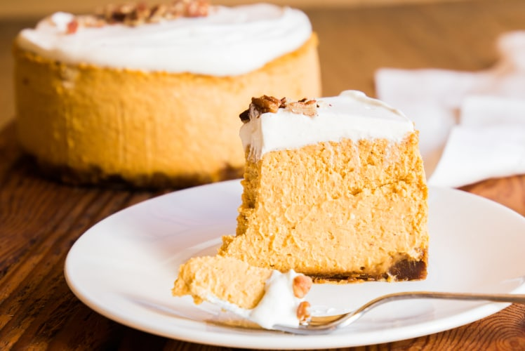 Image for Pressure Cooker Pumpkin Pie Cheesecake