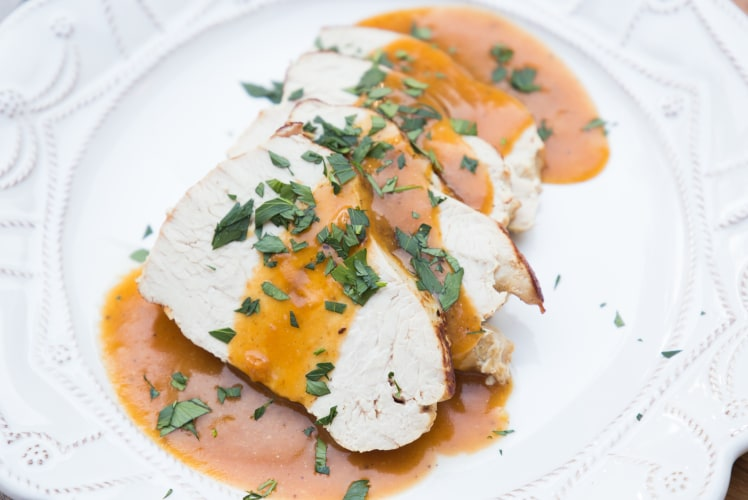Image for Pressure Cooker Turkey Breast and Gravy