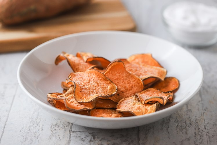Image for Air Fryer Sweet Potato Chips