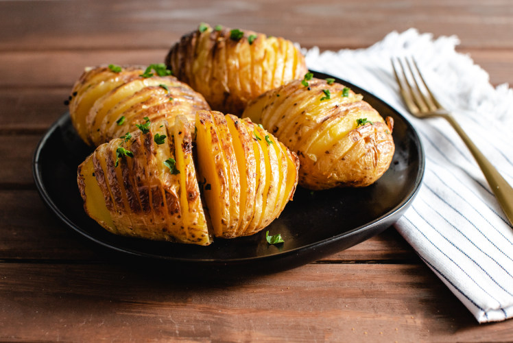 Image for CrispLid Hasselback Potatoes
