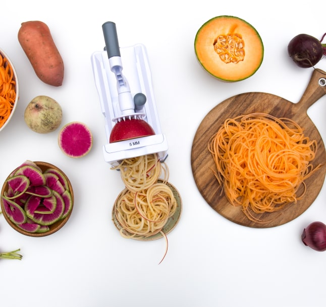 Image for 9 Recipes You Didn't Know You Could Make With a Spiralizer