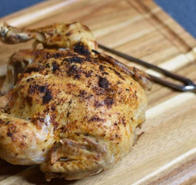 Image for How to Make Rotisserie Chicken from Frozen Using A Mealthy MultiPot and CrispLid