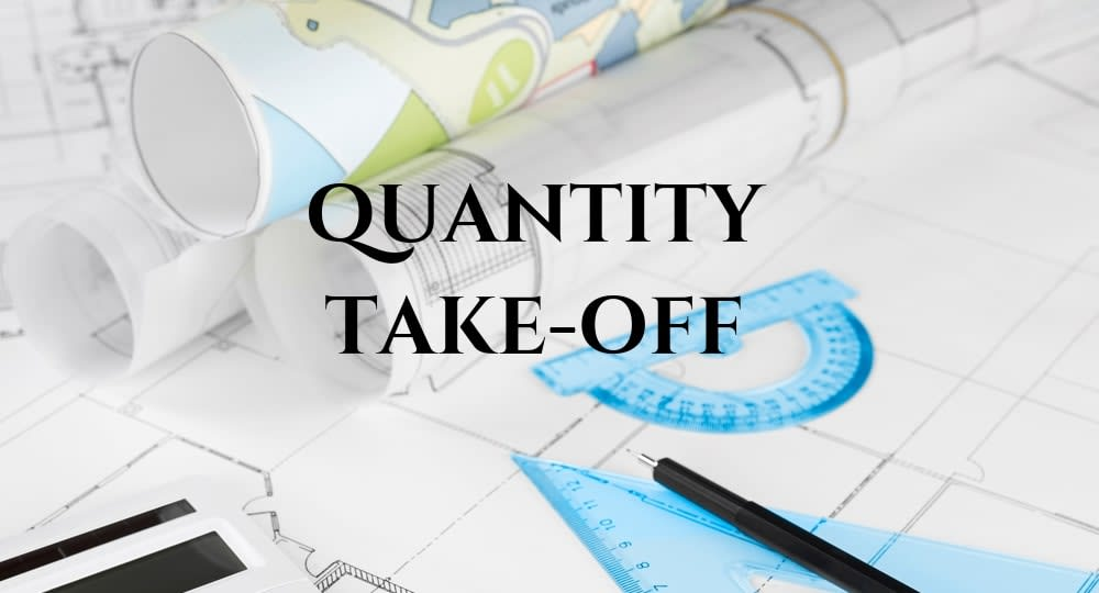What is Quantity Take Off in Construction?
