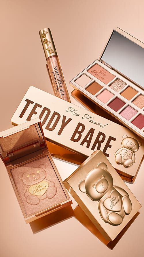 Warm eyes with Too Faced