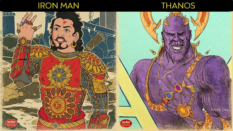marvel avengers indian version