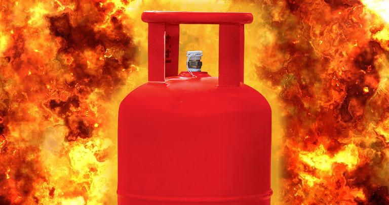 gas cylinder ko english mein kya kahate hain
