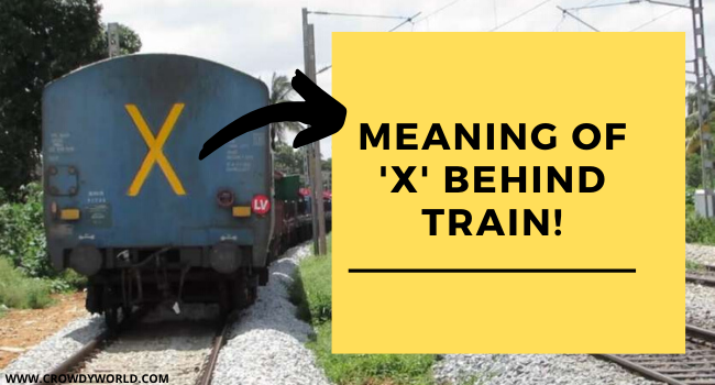 Meaning of Cross Symbol on Trains