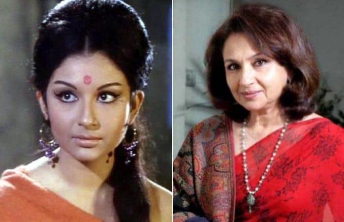 Sharmila Tagore then now