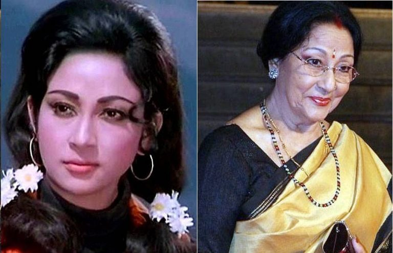 mala sinha then and now