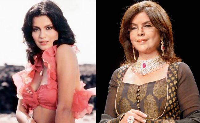 zeenat aman then and now