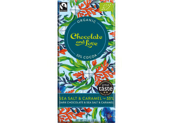 Chocolate and Love Choklad Sea Salt