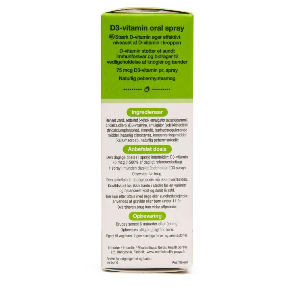 anbefalet daglig dosis d vitamin