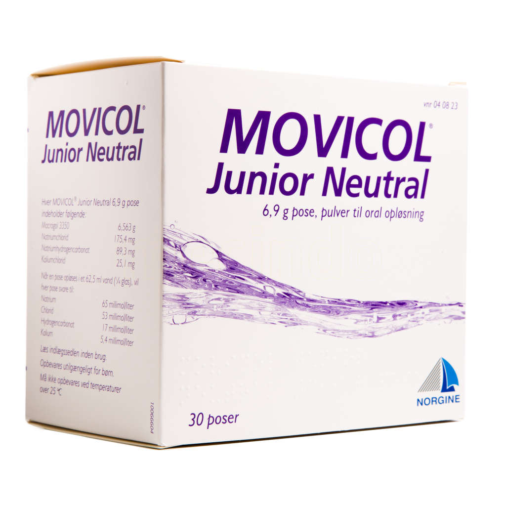 pris movicol junior