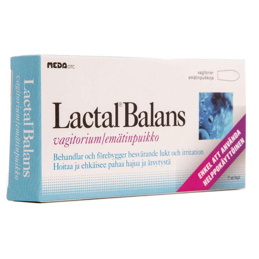 lactal balans vagitorium