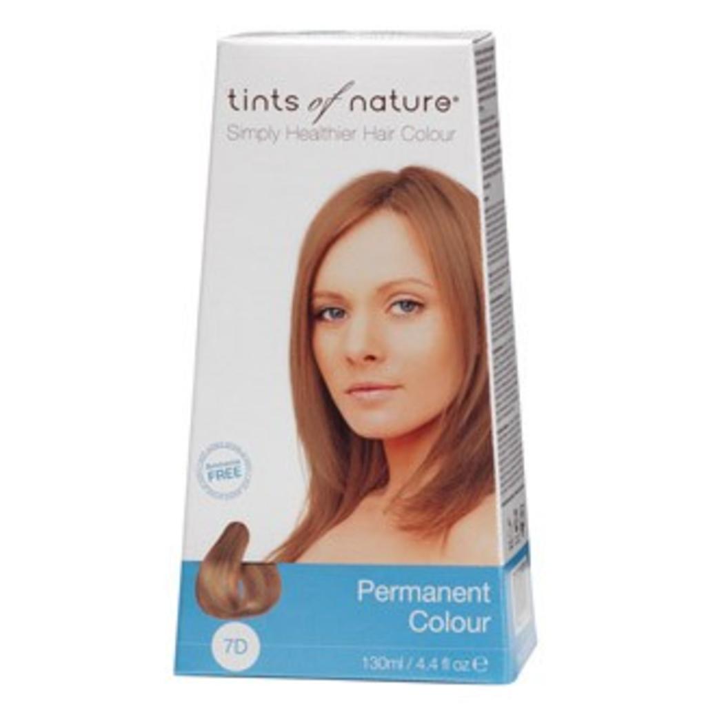 Tints of Nature Permanent Hair Dye Colour Medium Golden