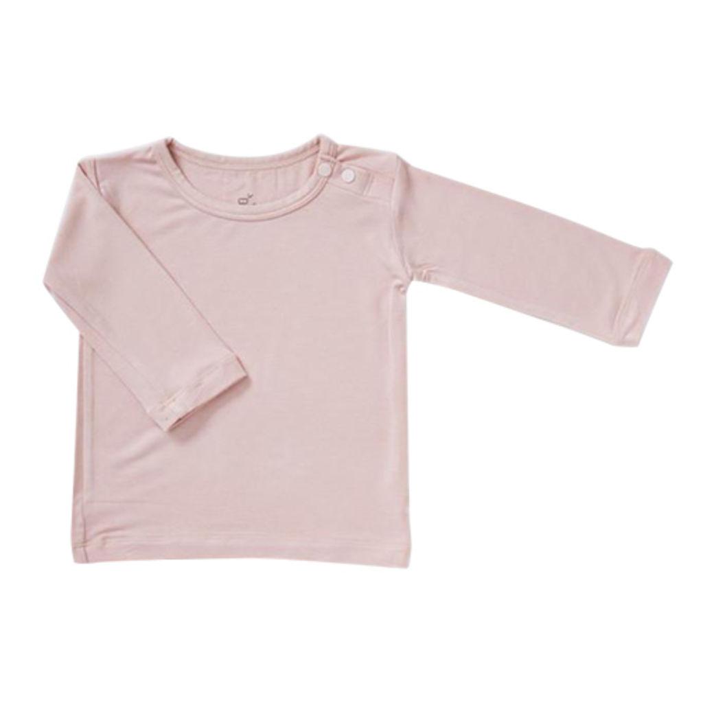 Boody Baby T shirt Langærmet Rose 6 12 Mdr