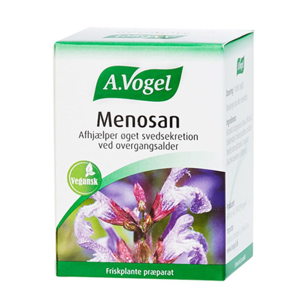 A. Vogel Menosan | 90 Tabletter kun 339,95 kr | mecindo.dk