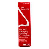 antihistamin næsespray