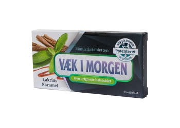 Væk I Morgen M. Lakrids &  Karamel