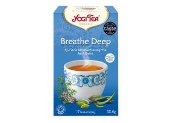 Yogi Tea Breathe Deep Te 17p KRAV EKO