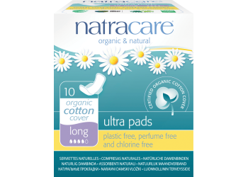 Natracare  Long Ultra Bind  Med Vinger Indpakket Enkeltvis
