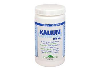 Natur-Drogeriet Kalium Complex 250 Mg