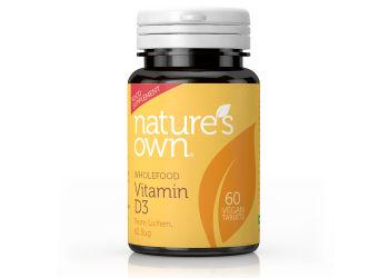 Nature's Own Vitamin D3 Vegan