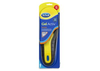 Scholl Sulor Gel Activ Work Men 1par