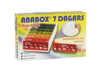 Anabox Doseringseske Ukeboks