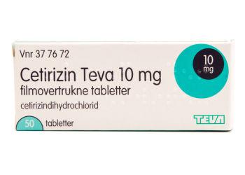Cetirizin mod allergi