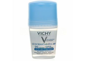 Vichy Deodorant Mineral Roll-on 48h