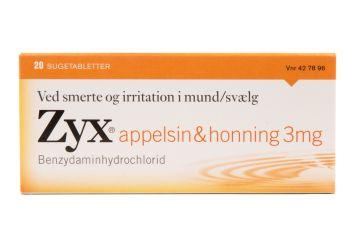 Zyx Appelsin & Honning