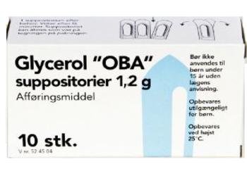Glycerol Suppositorier