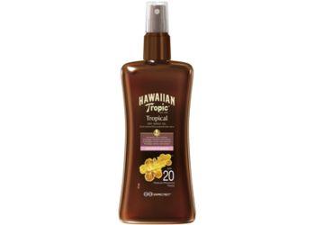 Hawaiian Tropic Protective Dry Spray Oil SPF20