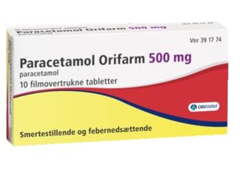 Paracetamol Orifarm