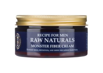Recipe for Men Raw Naturals Monster Fiber Cream