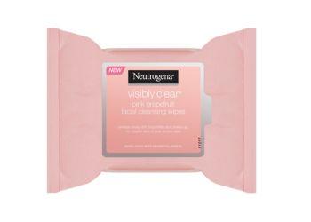 Neutrogena Facial Cleansing Wipes Pink Grapefruit