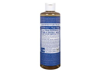 Dr. Bronner Peppermint Castile Liquid Soap