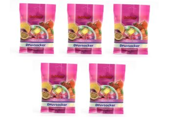 Fruit Power Druvsocker Påse Tropical Mix