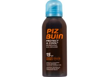 Piz Buin Cool And Protect Mousse SPF15