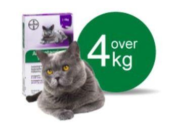 Advantage Vet. Opløsning Kat 4-8 kg