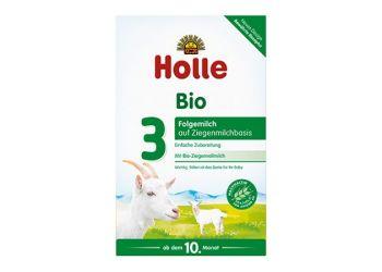 Holle Modersmjölkersättning Getmjölksbas 3 Eko