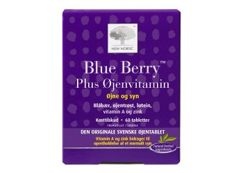 New Nordic Blue Berry Plus Øjenvitamin