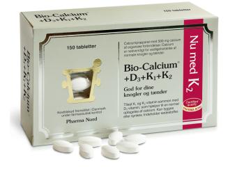 Pharma Nord Bio-Kalcium + D3 och K-vitamin