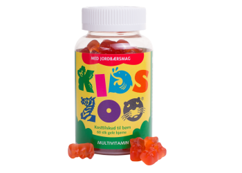 Kids Zoo Multivitamin m. Jordbær Smak