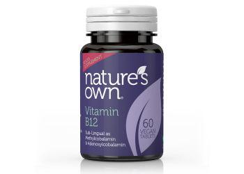 Nature's Own Vitamin B12 Smeltetabletter