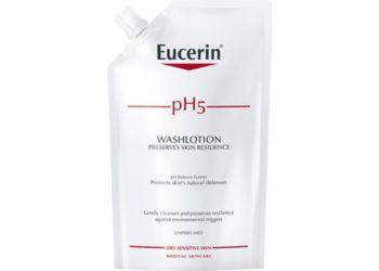 Eucerin Washlotion pH5 Refill Uparfumeret