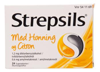 Strepsils Honning & Citron
