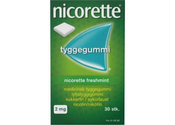 Nicorette Tyggegummi Freshmint